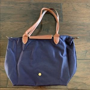 Small Purple longchamp bag